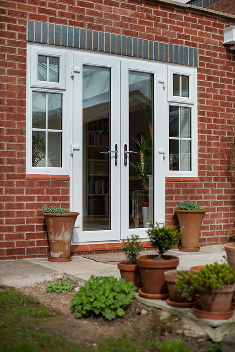 Frenchdoorstile3 n p windows for Upvc french doors liverpool