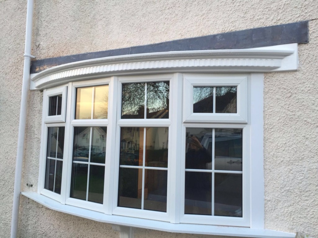 Installation of upvc double glazed bay window in birkenhead for Best triple glazing