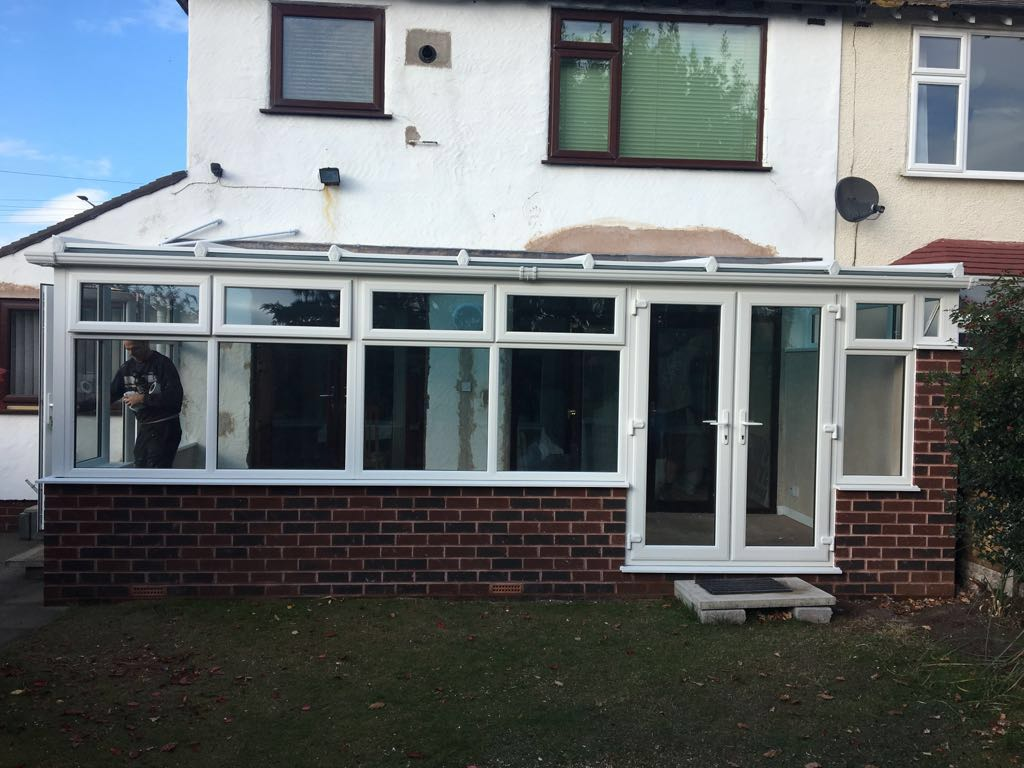 New Conservatory Installation in Wallasey