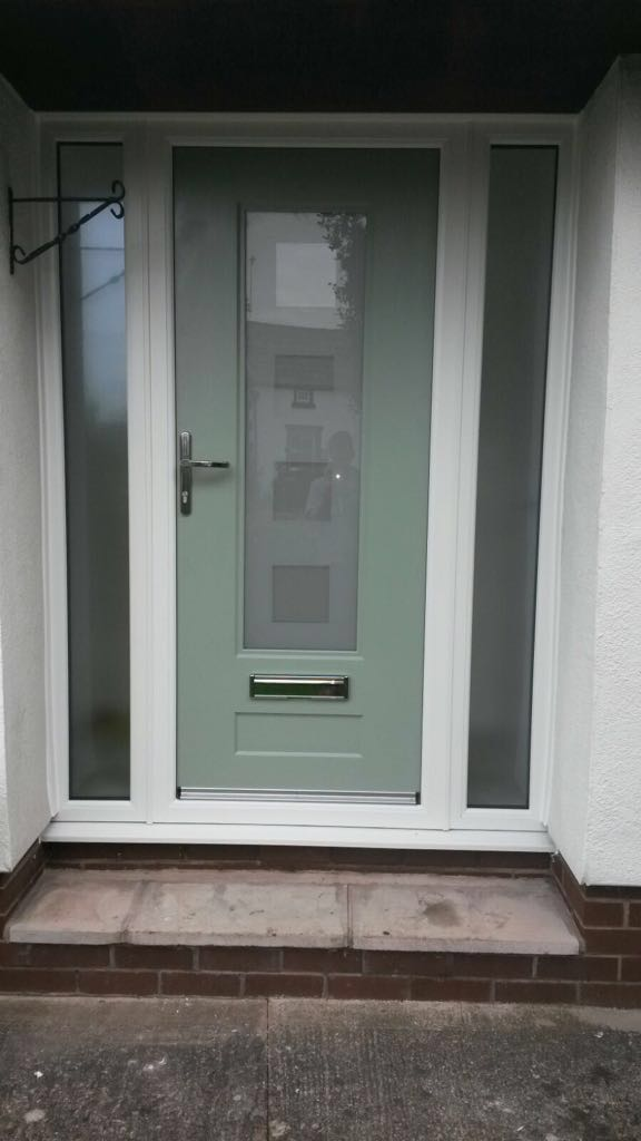 New UPVC Door in Arrowe Park, Wirral